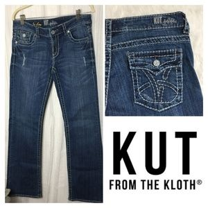 Kut from the Kloth Jeans Distressed So Low